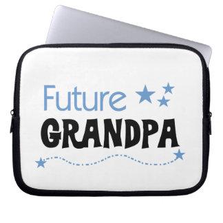 Camisetas y regalos futuros del abuelo fundas computadoras