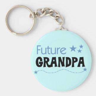 Camisetas y regalos futuros del abuelo llavero redondo tipo pin