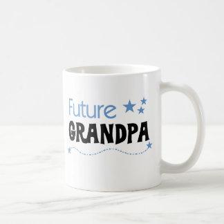 Camisetas y regalos futuros del abuelo taza básica blanca