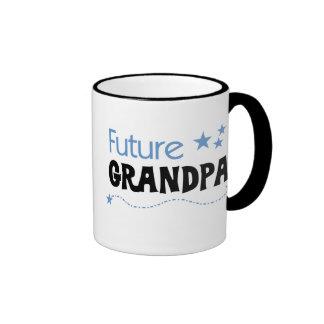 Camisetas y regalos futuros del abuelo taza a dos colores