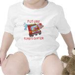 Camisetas y regalos futuros del bombero del