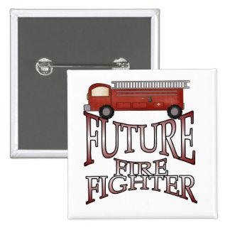 Camisetas y regalos futuros del bombero del coche  pins