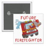 Camisetas y regalos futuros del bombero del elefan pin