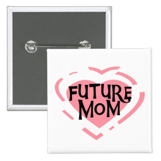 Camisetas y regalos futuros del corazón del rosa d pins