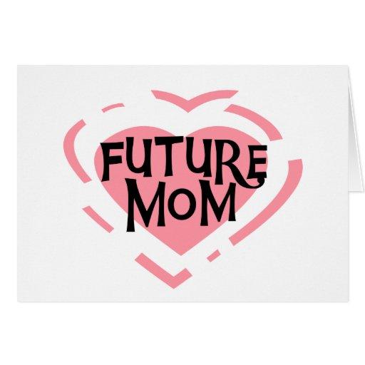 Camisetas y regalos futuros del corazón del rosa d felicitacion