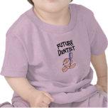 Camisetas y regalos futuros del dentista del bebé