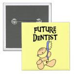 Camisetas y regalos futuros del dentista del bebé pins