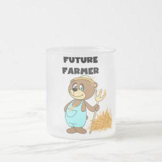 Camisetas y regalos futuros del granjero del oso tazas