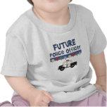 Camisetas y regalos futuros del oficial de policía
