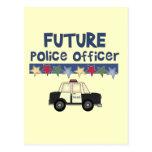 Camisetas y regalos futuros del oficial de policía postal