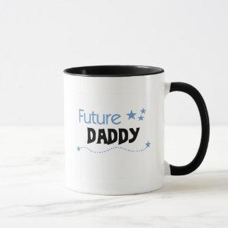 Camisetas y regalos futuros del papá taza
