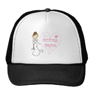 Camisetas y regalos futuros triguenos de la novia gorros