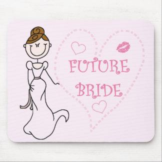 Camisetas y regalos futuros triguenos de la novia tapetes de raton