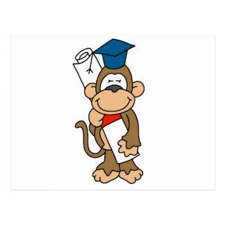 Camisetas y regalos graduados del mono postales