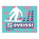 Camisetas y regalos gráficos de la snowboard postal
