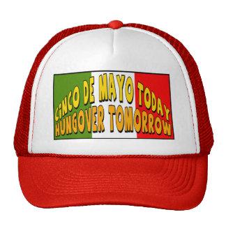 Camisetas y regalos Hungover de Cinco de Mayo Gorra