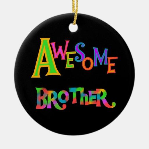 Camisetas y regalos impresionantes de Brother Ornamentos De Reyes