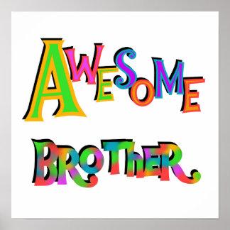 Camisetas y regalos impresionantes de Brother Posters