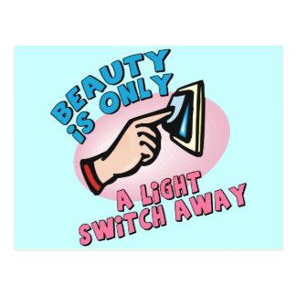 Camisetas y regalos inmediatos de la belleza para tarjetas postales