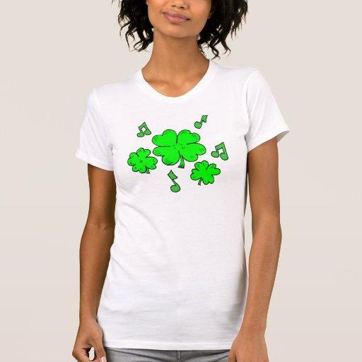Camisetas y regalos irlandeses de la música