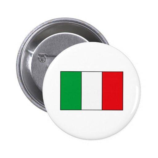 Camisetas y regalos italianos de la bandera pin