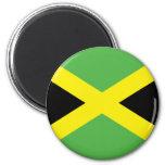 Camisetas y regalos jamaicanos de la bandera imanes para frigoríficos