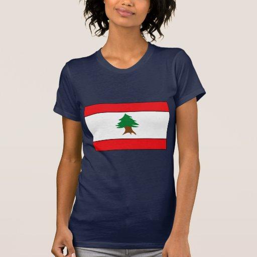 Camisetas y regalos libaneses de la bandera