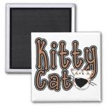 Camisetas y regalos lindos del gato del gatito iman para frigorífico