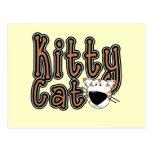 Camisetas y regalos lindos del gato del gatito tarjeta postal