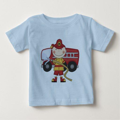 Camisetas y regalos masculinos del bombero