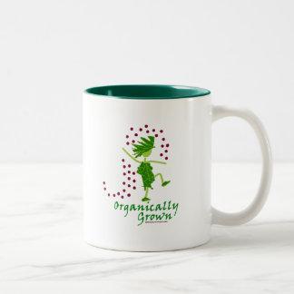 Camisetas y regalos orgánico crecidos taza