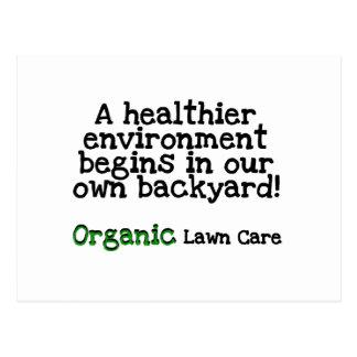 Camisetas y regalos orgánicos del cuidado del tarjetas postales