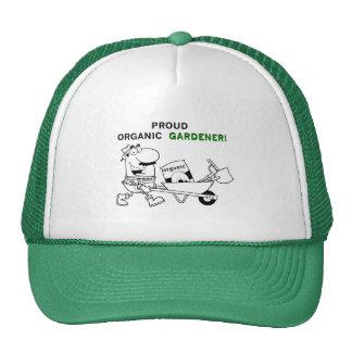 Camisetas y regalos orgánicos orgullosos del jardi gorros