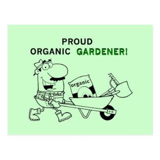 Camisetas y regalos orgánicos orgullosos del postales