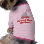 Camisetas y regalos orgullosos de la hermana del c camisetas mascota