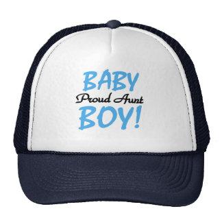 Camisetas y regalos orgullosos de la tía bebé gorras