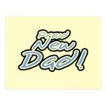 Camisetas y regalos orgullosos del papá del texto  tarjetas postales