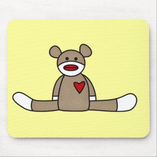 Camisetas y regalos originales del mono del calcet alfombrilla de ratones