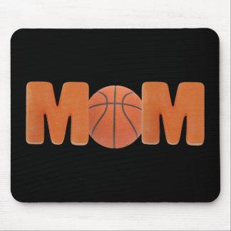 Camisetas y regalos para la mamá del baloncesto tapete de raton