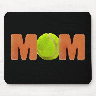Camisetas y regalos para la mamá del tenis alfombrilla de raton