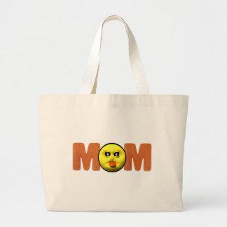 Camisetas y regalos para la mamá descarada bolsa