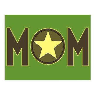 Camisetas y regalos para la mamá militar postales