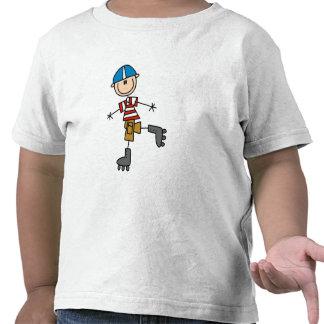 Camisetas y regalos patinadores en línea masculino