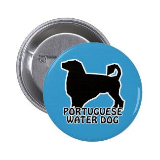 Camisetas y regalos portugueses del perro de agua pins