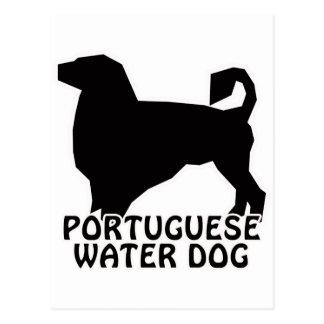 Camisetas y regalos portugueses del perro de agua postal