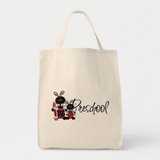 Camisetas y regalos preescolares de la mariquita bolsa de mano
