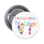 Camisetas y regalos preescolares del profesor de l pin
