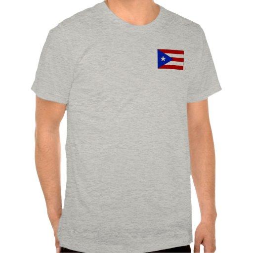 Camisetas y regalos puertorriqueños de la bandera