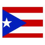 Camisetas y regalos puertorriqueños de la bandera postal