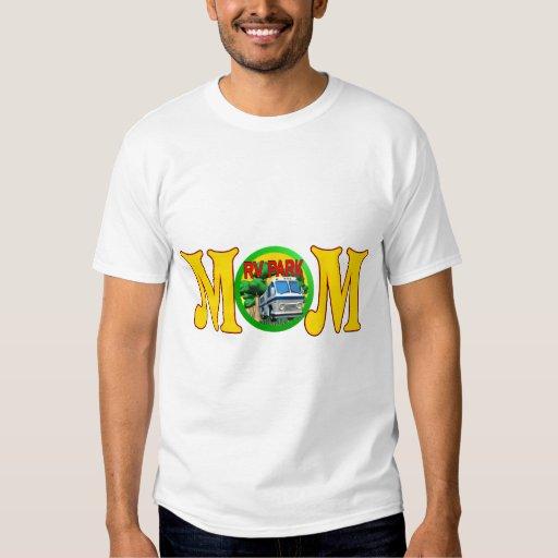 Camisetas y regalos que acampan para la mamá poleras